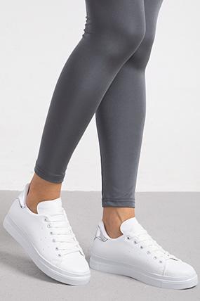 Yuksek Taban Bagcıklı Spor Ayakkabı-P-015193