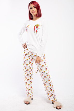 Pop Corn Uzun Kol Pijama Takımı-P-018095