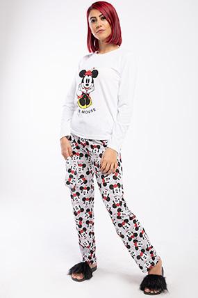 Mickey Uzun Kol Pijama Takımı-P-018097