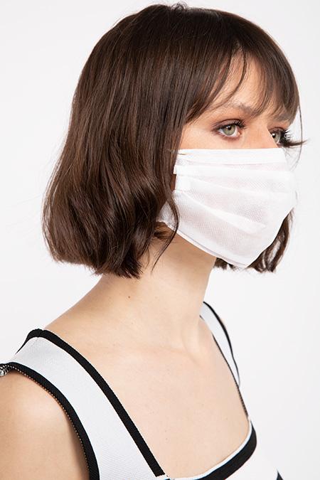Lastikli Non Steril Koruyucu 3 Katlı Cerrahi Maske-P-017417
