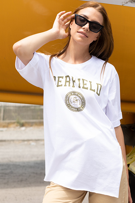 Berfield Baskılı T-shirt-P-017880