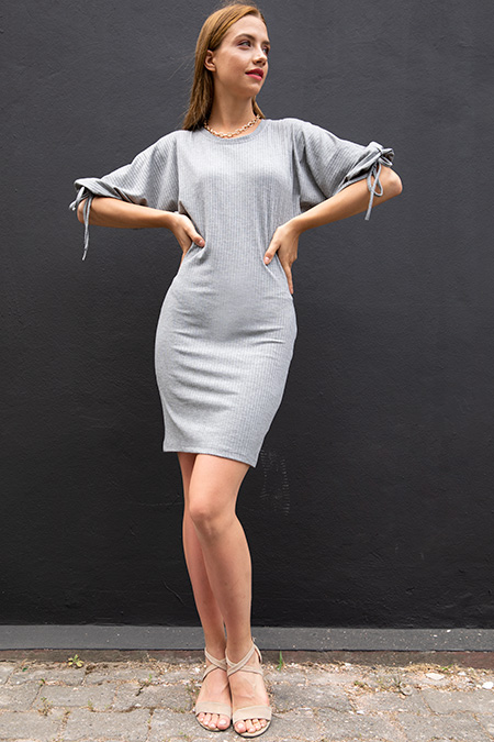 Kaskorse Kol Detay Elbise-P-017926