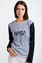 NASA BASKILI SWEAT / LACIVERT