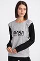 NASA BASKILI SWEAT / SIYAH