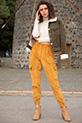 Kargo Ceplı Kadıfe Pantolon / HARDAL
