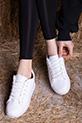 Bagcıklı Spor Ayakkabı / BEYAZ
