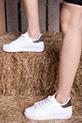 Bagcıklı Spor Ayakkabı / beyazplatın