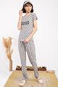 Sleeper Baskılı Pıjama Takımı / GRI