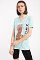Ethnıc Baskılı Taslı T-shirt / SUYESILI