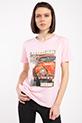 Legend Baskılı Taslı T-shirt / PUDRA