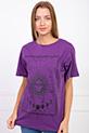 Baskılı T-shirt / MOR