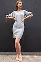 Kaskorse Kol Detay Elbise / GRI