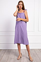 Ip Askılı Boncuklu Elbise / LILA