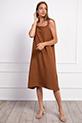 Ip Askılı Boncuklu Elbise / TABA